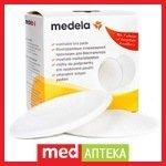 Многоразовые прокладки для бюстгалтера MEDELA (4шт)